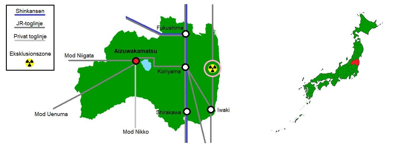 Aizuwakamatsu og omegn