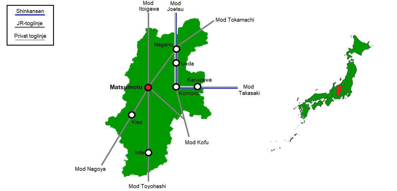 Matsumoto og omegn