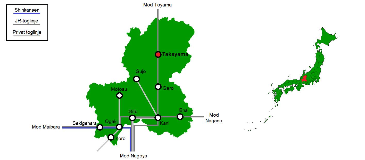 Takayama og omegn