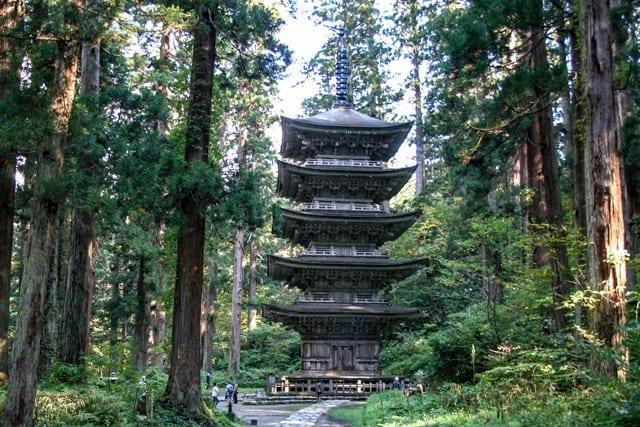Haguro-pagoden