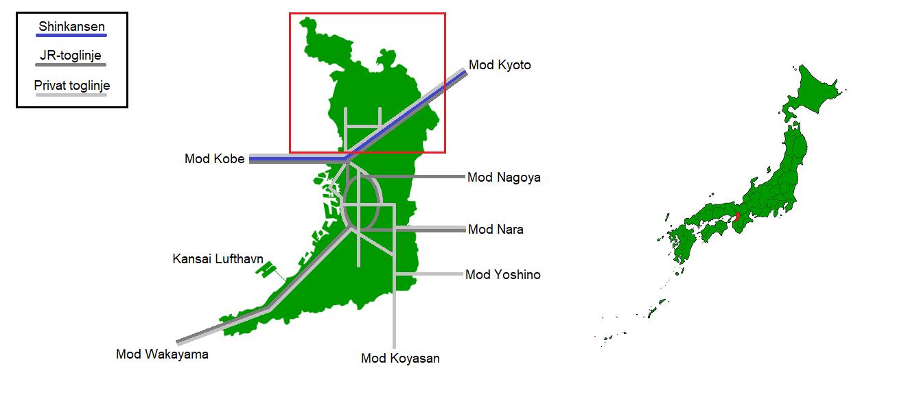 Osaka nord