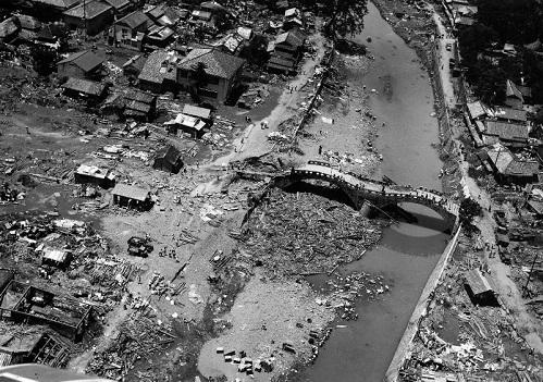 Isahaya-oversvømmelserne i 1957