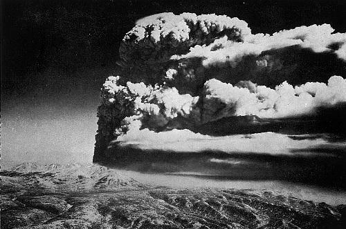 Tokachi vulkanudbruddet i 1962