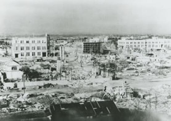 Bombetogterne i Numazu