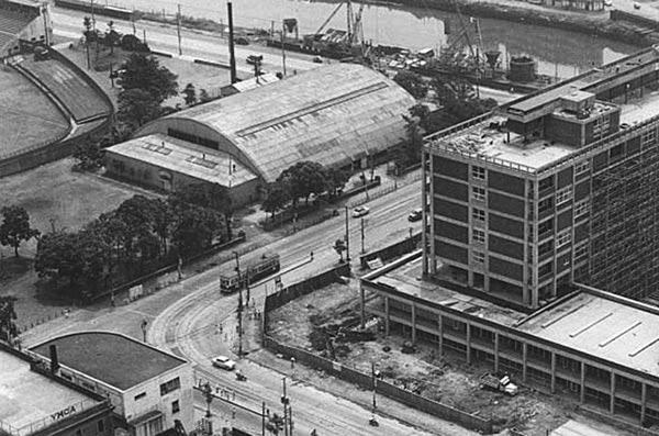 Tragedien i Yokohama-idrætshallen