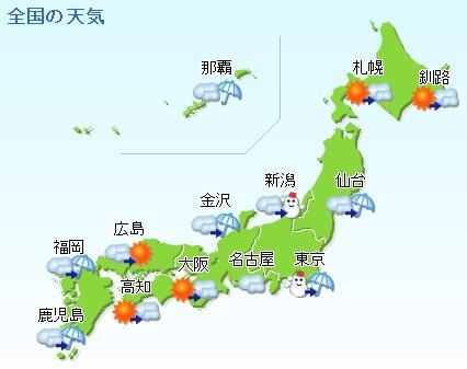 Klimaet i Japan